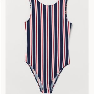 Striped bodysuit (NWT)